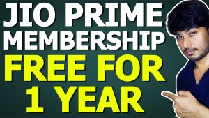 Jio Prime Membership Free For 1 Year
