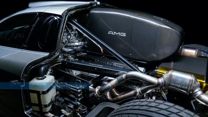 1998 Mercedes-Benz CLK GTR V12-Motor