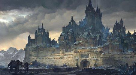 Medieval Fantasy City Art 5