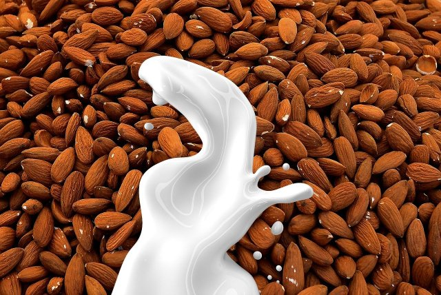 This image has an empty alt attribute; its file name is almond-milk-1623610_1280.jpg