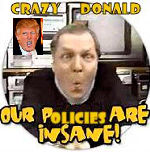 Crazy Donald and Eddie