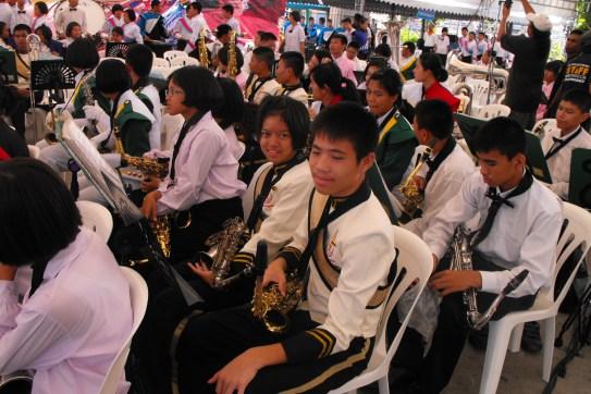 alto sax section