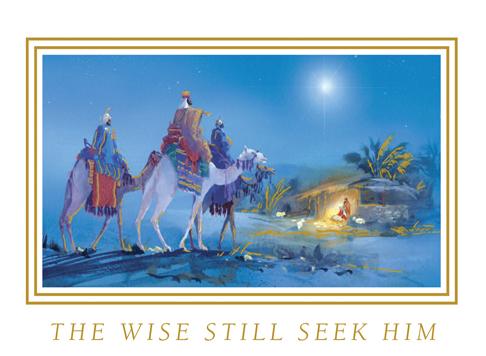 Cards The Wise Still Seek Him