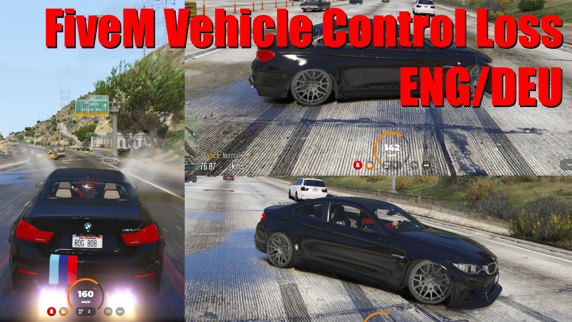 FiveM die Kontrolle über den Wagen verlieren Skript - Rp Scripts