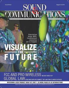 Sound Communications Visulize the Future Magazine
