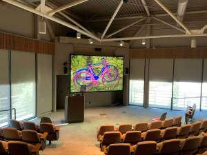 Spinitar Lawrence Berkeley Labs lecture hall