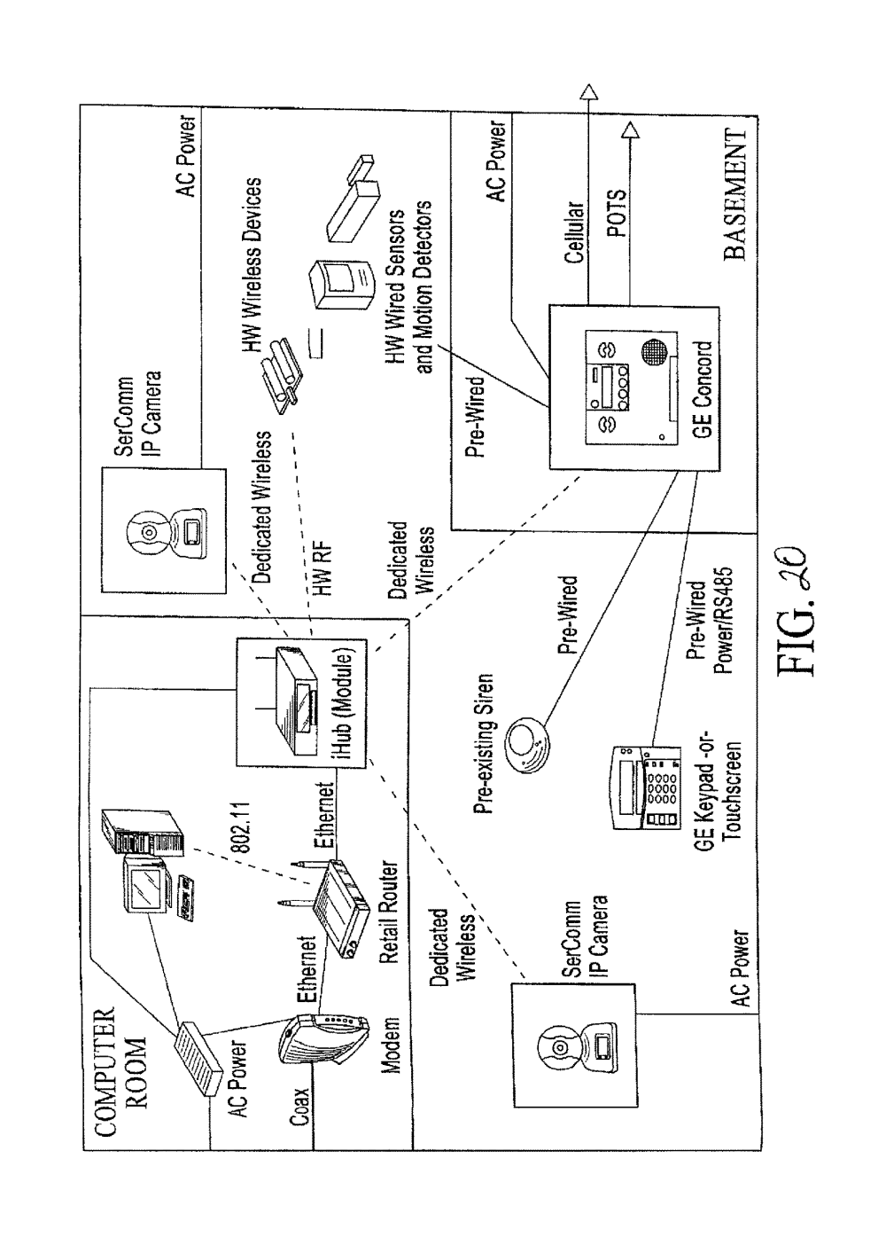medium resolution of patent us 10 051 078 b2 wiring diagram moreover lg hbs 800 diagram on ge structured wiring