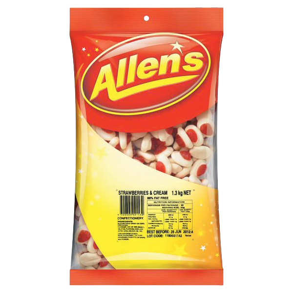 Allens Strawberry Cream rqn