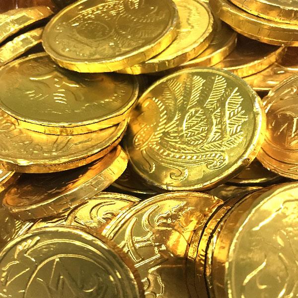 Milk Chocolate Coins