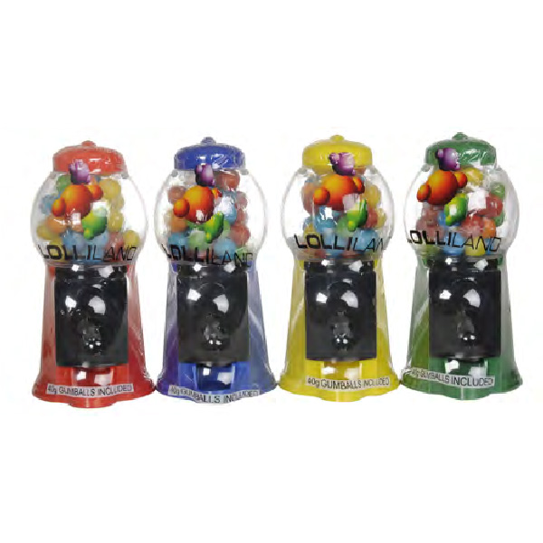 Gumballs Machine including gumballs