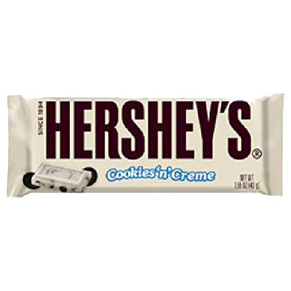 Hershey's Cookies & Creams Bar