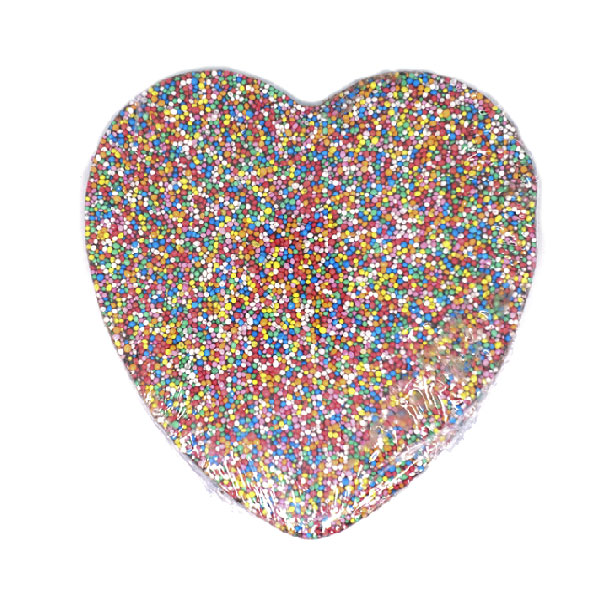 Milk Chocolate Heart Speckle 150g