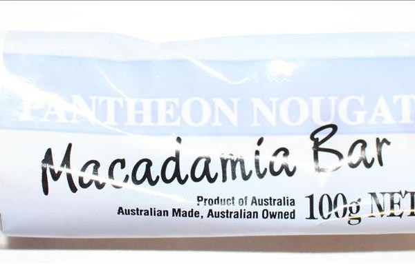 Pantheon Nougat Macadamia Bar