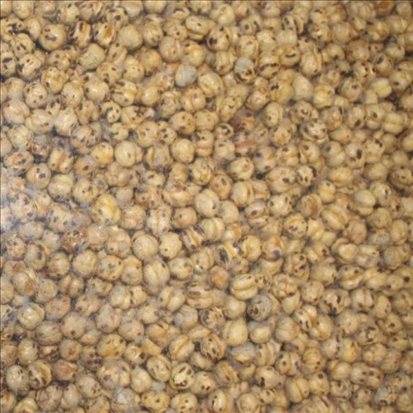 Yellow Roasted Chickpeas