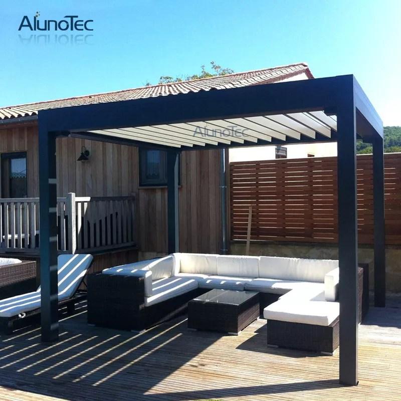 modern outdoor bioclimatic pergolas