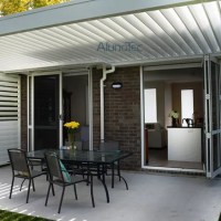 Wall Mounted Louvres Roof Pergola Kits - Buy wall mounted ...