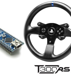 emulating t300 ps rim with arduino [ 1000 x 803 Pixel ]