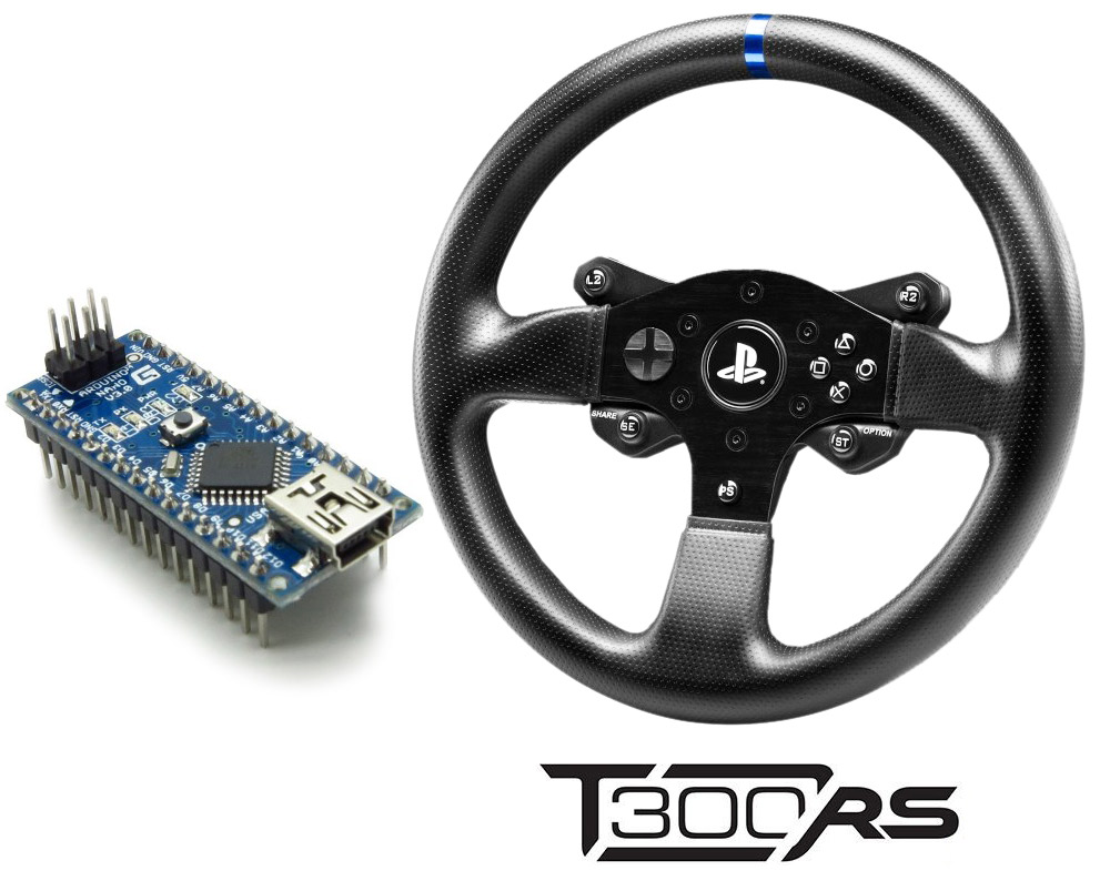 hight resolution of emulating t300 ps rim with arduino