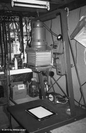 My enlarger, former property of the NHRA.