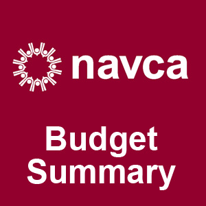 NAVCA Budget image