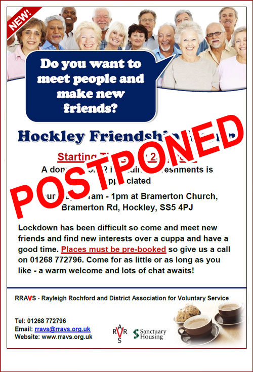Hockley Friendship Group poster image
