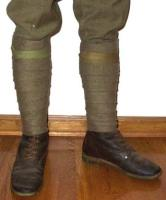 WW1 British Army Service Puttees