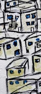 Painting of buildings