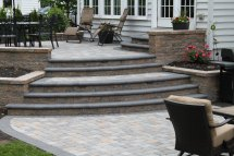 Doylestown Raised Patio & Caddick Landscape Design
