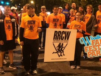 RRCW march down Broad Street Woodbury Fall Festival Parade