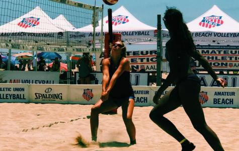 Round Rock volleyball players take to the sand