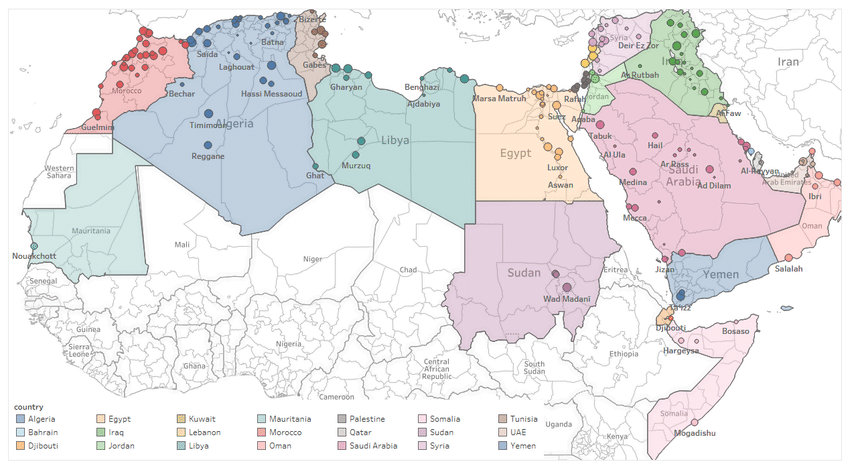 Review of the SDGs in Arab States