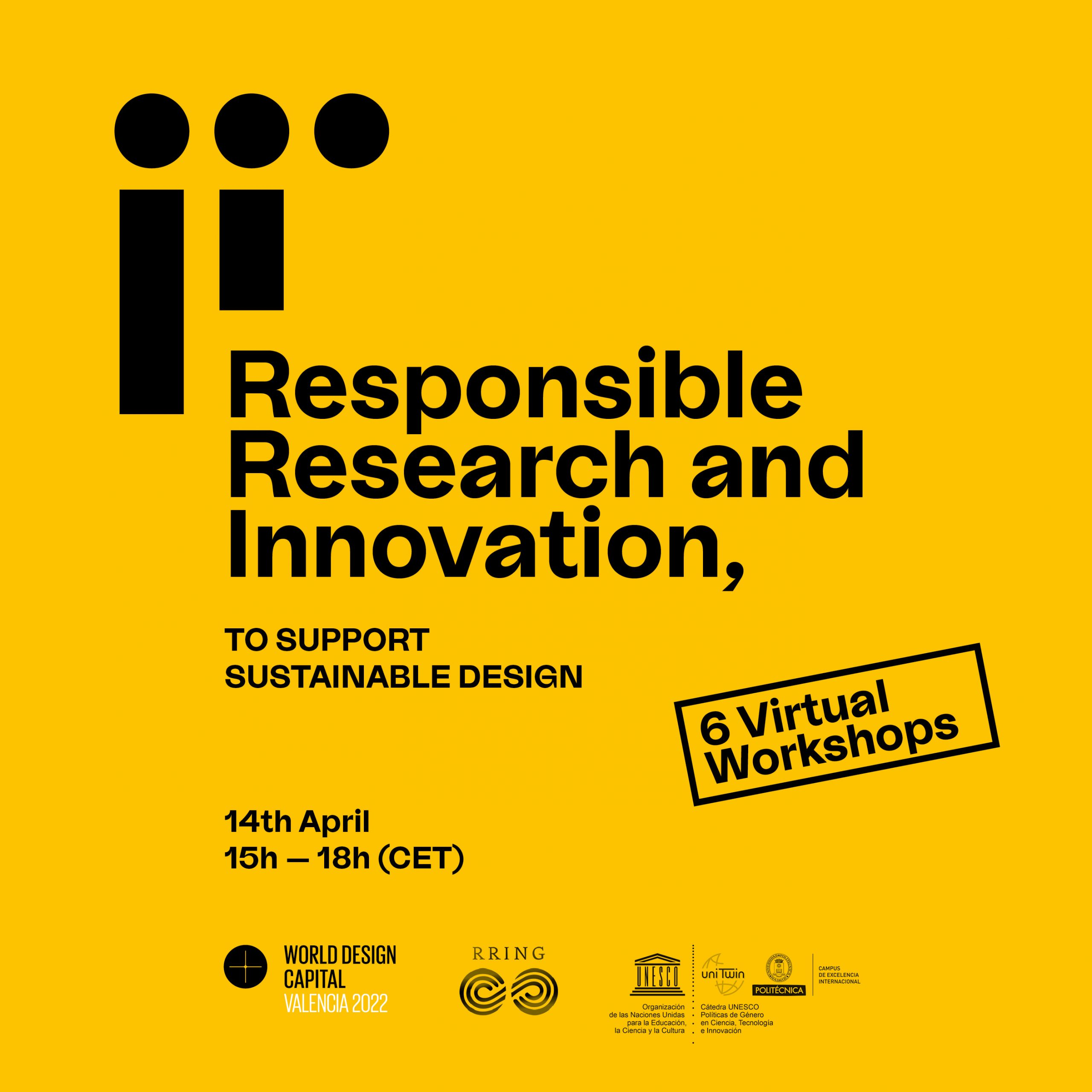 World Design Capital Workshop: Responsible Research and Innovation to support sustainable design