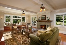 Modern Craftsman Style Home Interiors