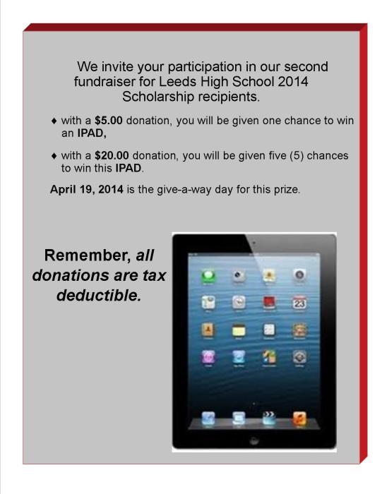invite 2014 scholarship