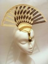 Woven Hempbraid Fan Headpiece, 2013