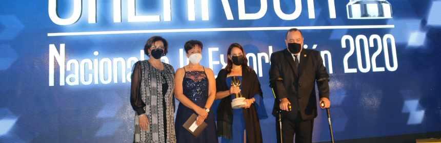 Agexport entregó el premio a los mejores exportadores de Guatemala