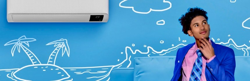 Ahorre electricidad aire acondicionados WindFree de Samsung