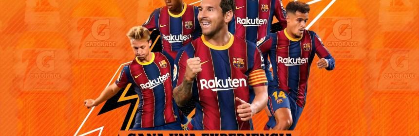 Botellas de Gatorade incluyen una experiencia con el FC Barcelona