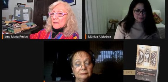 Editorial Piedrasanta realizó un homenaje a Ana María Rodas