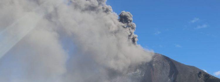 Erupción del volcán de Pacaya y las recomendaciones ante la emergencia