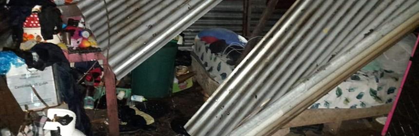 Más de 175 viviendas han presentado daños por temporada de lluvias