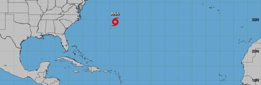 Se forma la tormenta Ana en el Atlántico
