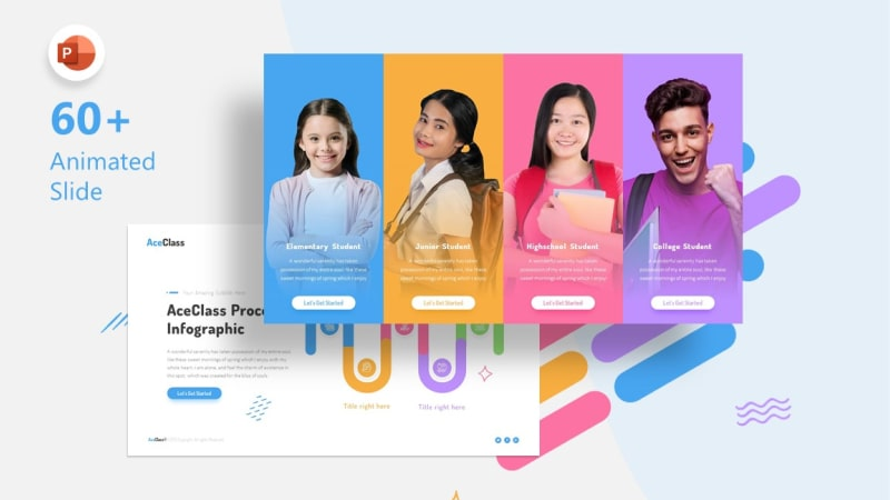 AceClass Education PowerPoint Template