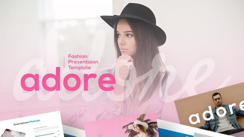 Adore Fashion PowerPoint Template