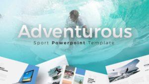 Adventurous Travelling PowerPoint Template