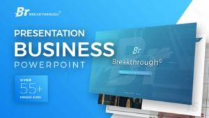 Breakthrough Business PowerPoint Template