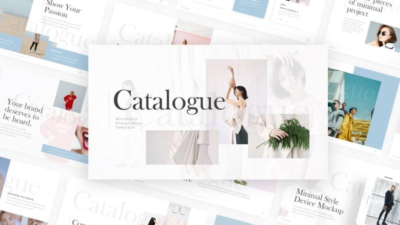 Catalogue – Basic Fashion Presentation Template