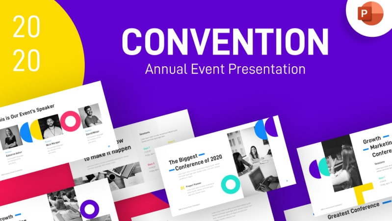 Convention Event PowerPoint Template