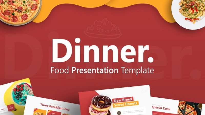Dinner Culinary PowerPoint Template