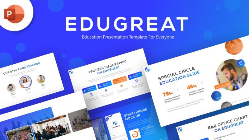 Edugreat Education PowerPoint Template
